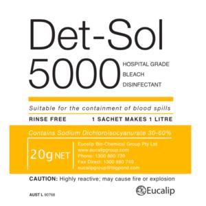 Det-Sol 5000 - Eucalip Group Hospital-Grade Disinfectant