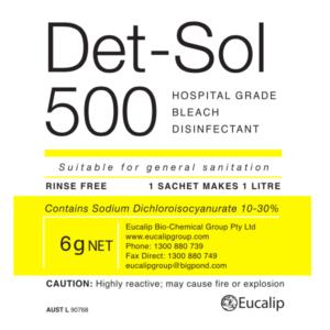 Det-Sol 500 - Eucalip Group Hospital-Grade Disinfectant
